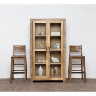 The Grey Barn Fairview Reclaimed Wood Curio Cabinet