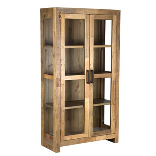 The Gray Barn Fairview Reclaimed Wood Curio Cabinet