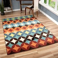 Palm Canyon Clara Indoor/ Outdoor Multi Area Rug (7'8 x 10'10)
