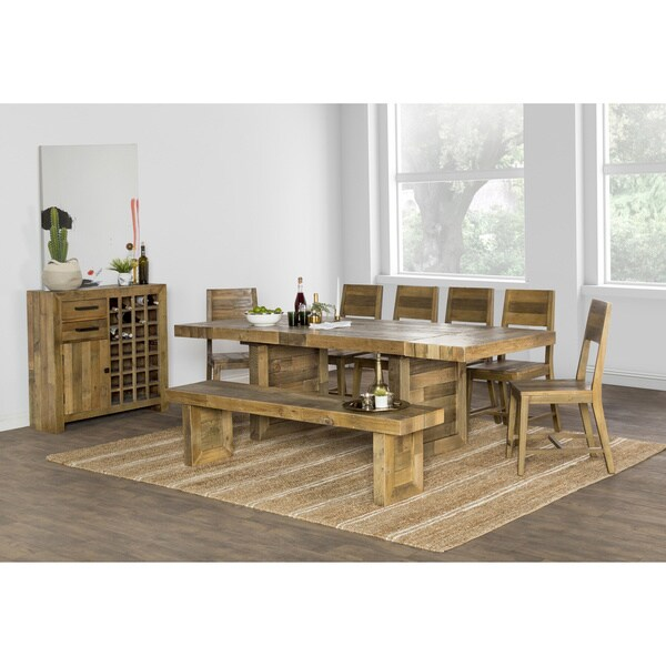 Shop The Gray Barn Fairview Reclaimed Wood Extending Dining Table
