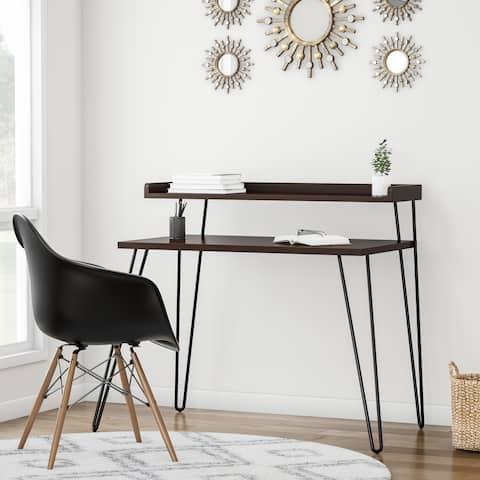 Carson Carrington Bruhagen Writing Desk with Riser