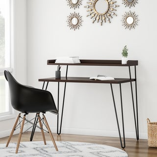 Link to Carson Carrington Bruhagen Writing Desk with Riser Similar Items in Desks & Computer Tables