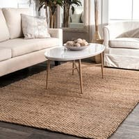 The Gray Barn Mayan Handmade Natural Jute Area Rug - 12' x 15'