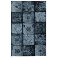 Laurel Creek Oswin Artifact Panel Paisley Indoor Area Rug - 8' x 10'