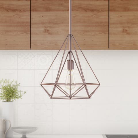 Carson Carrington Skagen Diamond 1-light Pendant - Copper