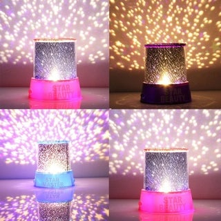 Star Master Projector Colorful Starry Night Light Lamp for Kid's Gift