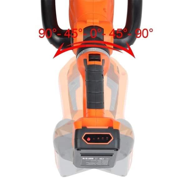 Shop GARCARE 20V Li-ion Cordless Hedge Trimmer,24 inch Laser