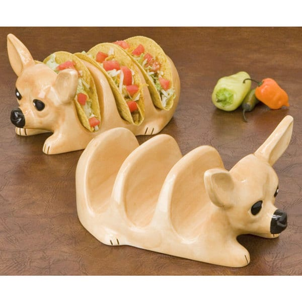 Tito Chihuahua Taco Holder (Set of 2)