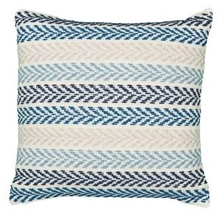LR Home Altair Clear Skies Chevron Throw Pillow 18 inch