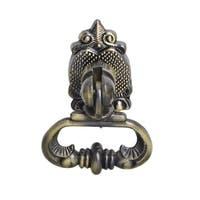 Vallia 2.6 in. x 1 in. Drop Ring Cabinet Pull - Antique Brass