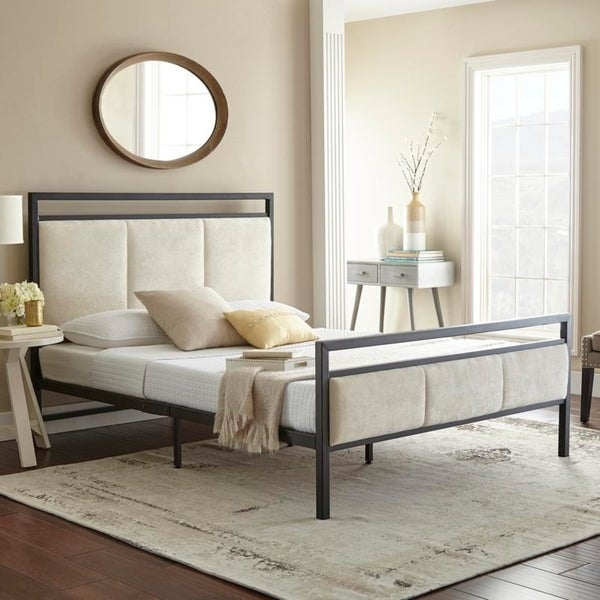 Sleep Sync Sheldon Queen Platform Bed. Opens flyout.