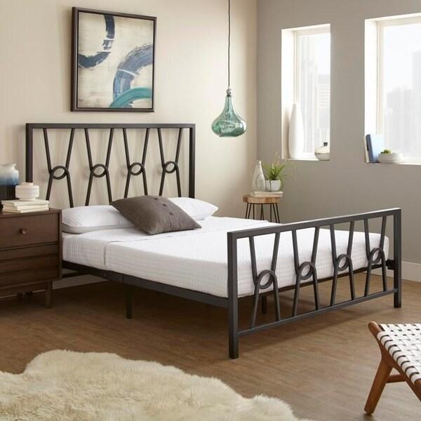 Sleep Sync Noemi Queen Metal Platform Bed
