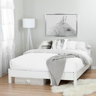 South Shore Step One Queen Platform Bed with Underbed Storage