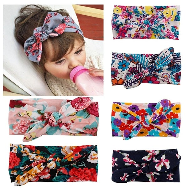 Shop Baby Headbands Turban Knotted Girl s Hairbands for Newborn - On ... 088b9cb6e6c