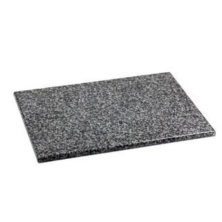 Home Basics Black Granite Cutting Board