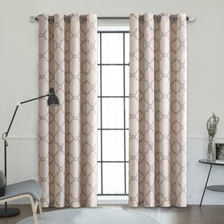 Ivory, Blackout Curtains & Drapes For Less | Overstock.com