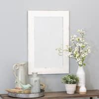 """Morris Wall Mirror - White 30 x 20 - 30""""h x 20""""w x 1""""d"""