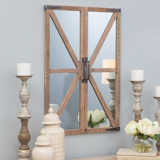 "Link to Walker Farmhouse Wall Mirror - 30""h x 20.5""w x 2""d Similar Items in Mirrors"