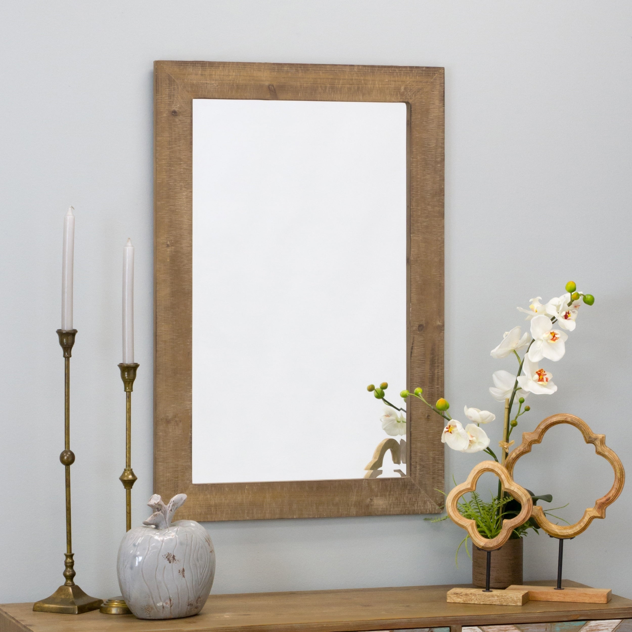 Buy Wood, Rectangular Mirrors Online at Overstock.com | Our Best ...