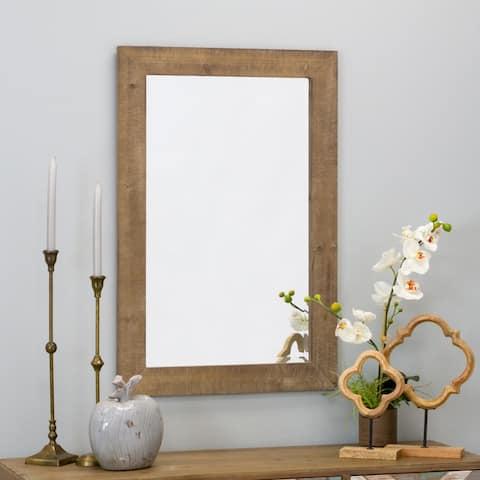 "Morris Wall Mirror - Nutmeg 36 x 24 - 36""h x 24""w x 1""d"