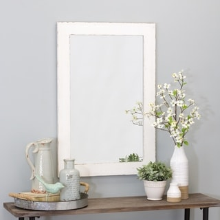 "Link to Morris Wall Mirror - White 36 x 24 - 36""h x 24""w x 1""d Similar Items in Rectangular Mirrors"