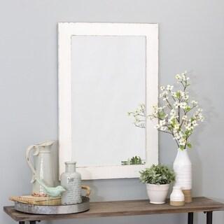 """Morris Wall Mirror - White 36 x 24 - 36""""h x 24""""w x 1""""d"""