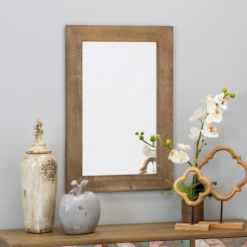 "Morris Wall Mirror - Nutmeg 30 x 20 - 30""h x 20""w x 1""d"
