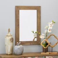 """Morris Wall Mirror - Nutmeg 30 x 20 - Antique Brown - 30""""h x 20""""w x 1""""d"""