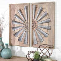 The Gray Barn Jartop Windmill Wall Decor (Set of 2)