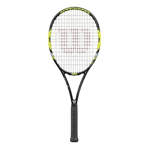 Wilson Steam 99S Yellow Tennis Racquet