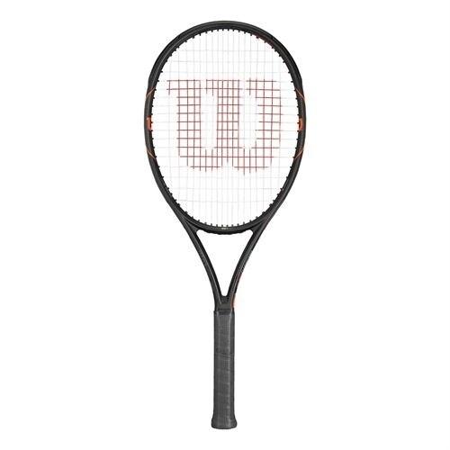 Wilson Burn FST 99S Tennis Racquet, Black, Size 4-1/2''