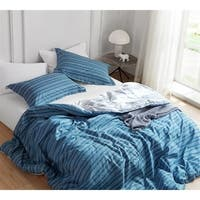 BYB Faded Stripes - Blue Comforter