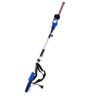 AAVIX 20-inch pole hedge trimmer