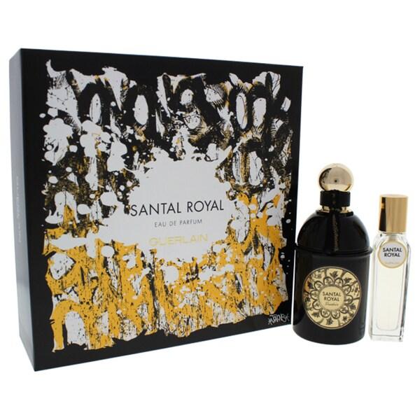 Shop Guerlain Santal Royal Unisex 2 Piece Gift Set Free Shipping