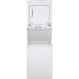 GE Unitized Spacemaker 2.3 DOE cu. ft. Stainless Steel Washer and 4.4 cu. ft. Electric Dryer