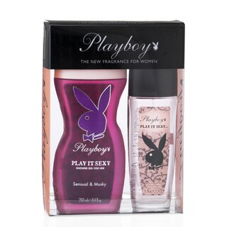 Playboy Play It Sexy Women's 2-piece Gift Set