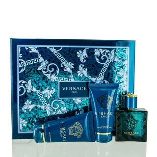 Versace Eros Men's 3-piece Travel Set