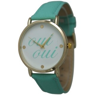 "Women's ""Oui Oui"" Watch"