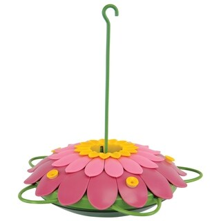 So Real Single Flower Feeder- Pink