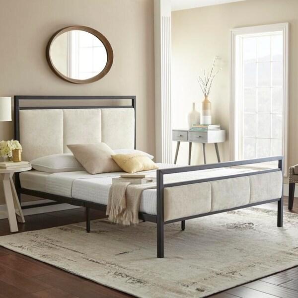 Sleep Sync Sheldon Double Platform Bed