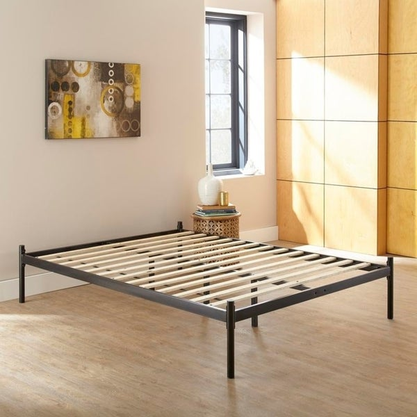 Sleep Sync Rhett Black Twin Metal Platform Bed