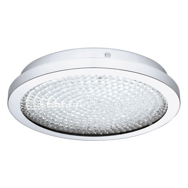 Eglo USA Arezzo Ceiling Light w/ Chrome Finish and Crystal stones