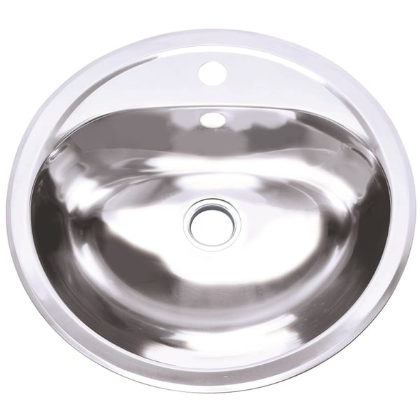 Charmant Shop Oval Stainless Steel Sink   Free Shipping Today   Overstock   20113194