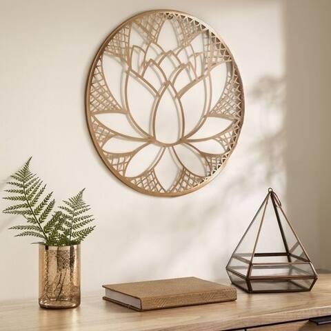Graham & Brown Lotus Blossom Metal Wall Art