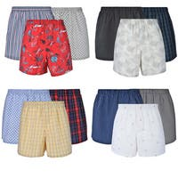 Reed Edward Classic Assorted ComfortFlex Waistband Underwear Boxer Shorts - 12 Pack