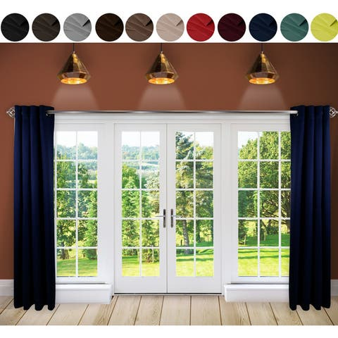 Buy Blue Wide Width Curtains Amp Drapes Online At Overstock