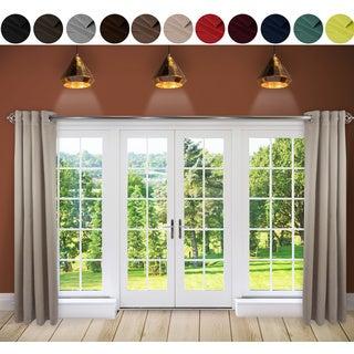 InStyleDesign Premium Extra Wide Heavy Duty Sliding Door Patio Curtain with Grommet (1 Panel)