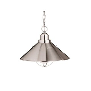 Kichler Lighting Seaside Collection 1-light Brushed Nickel Outdoor Pendant