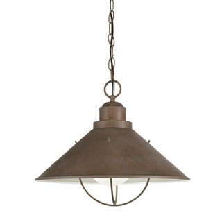 Kichler Lighting Seaside Collection 1-light Olde Brick Outdoor Pendant