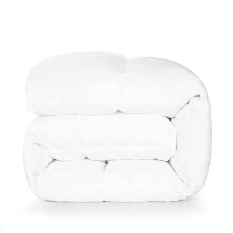 Twin Ducks Inc Bari White Goose Down Comforter